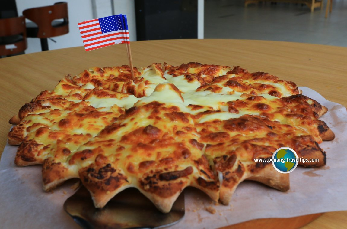 US Pizza's D24 Durian Pizza