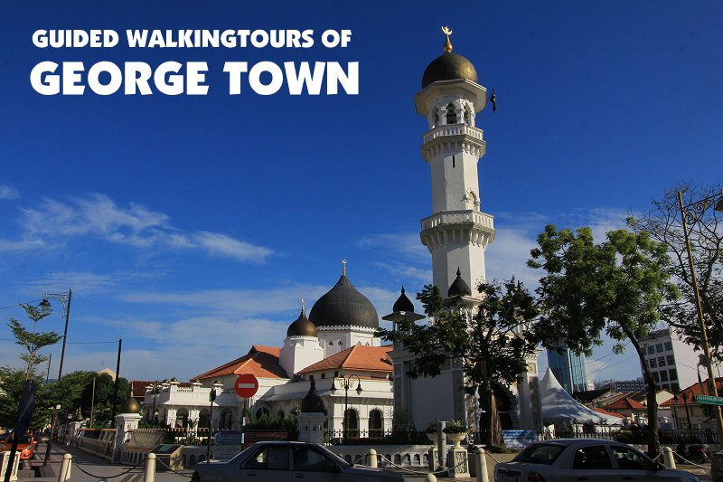 Guided Walking Tours of George Town