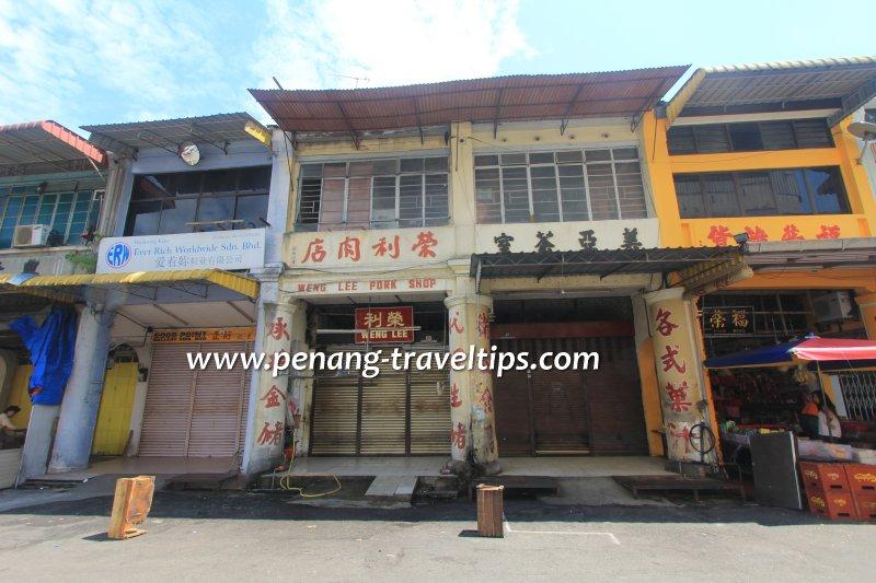 Weng Lee Pork Shop, George Town, Penang