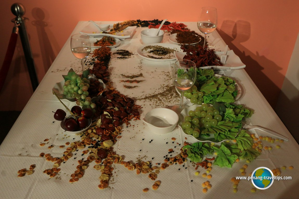 Wonderfood Mona Lisa