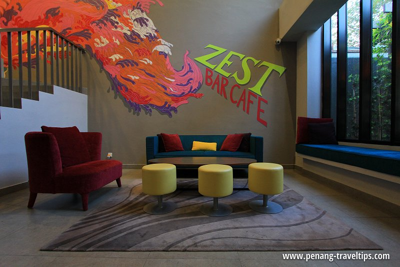 ZEST Bar Cafe, GLOW Penang
