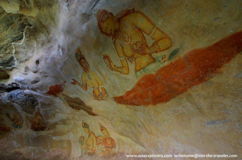 Murals, Sigiriya