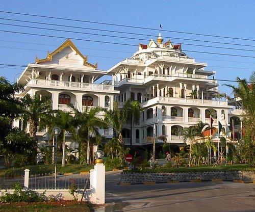 Champasak Palace Hotel, former residence of the Prince of Champasak