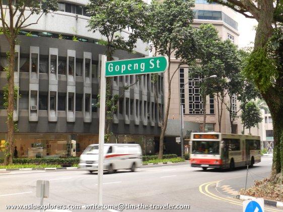 Gopeng St signboard