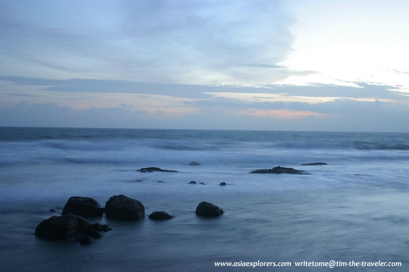 The Indian Ocean at Galle