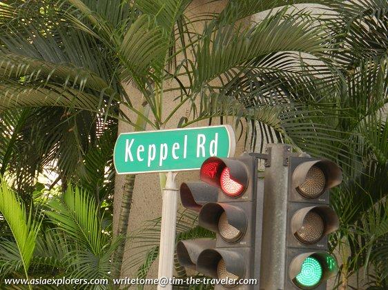 Keppel Rd signboard