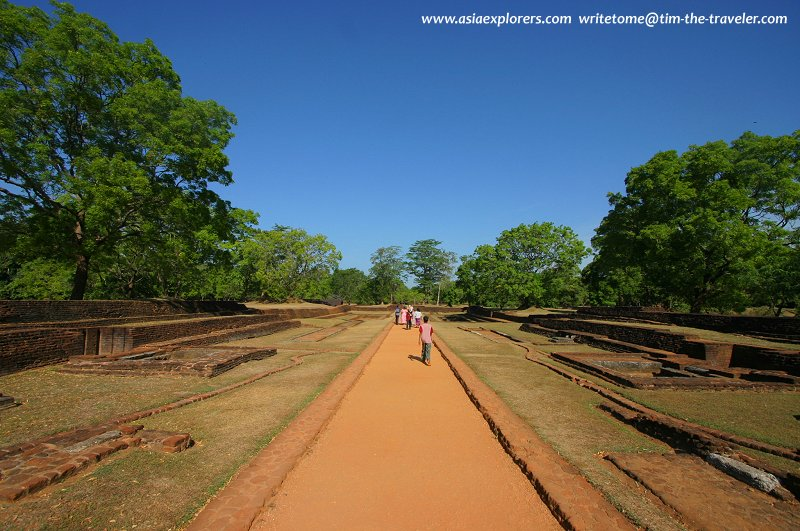 King Kasyapa's Lower Palace, Sigiriya