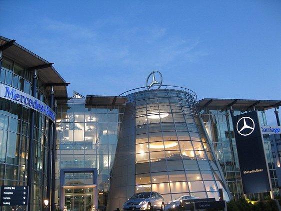 Mercedes-Benz Center, Alexandra Rd