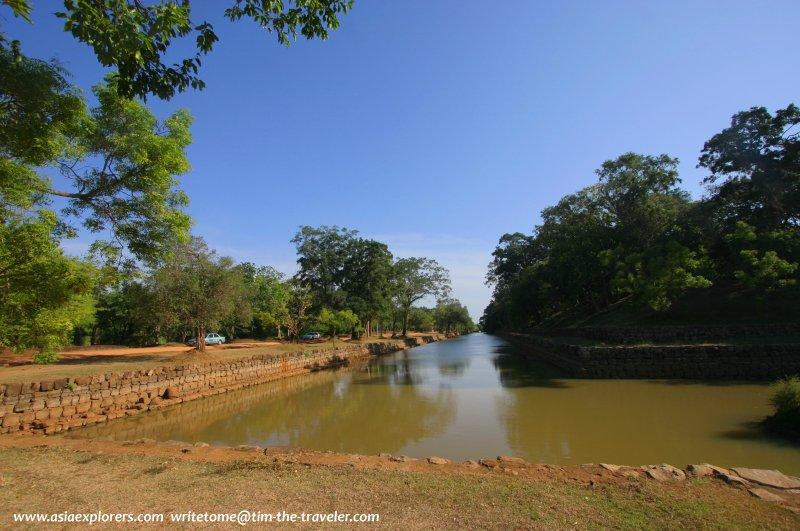 King Kasyapa's moat, Sigiriya