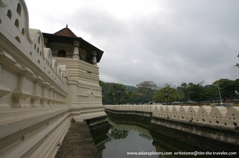 Moat of the Sacred Tooth Relic Temple