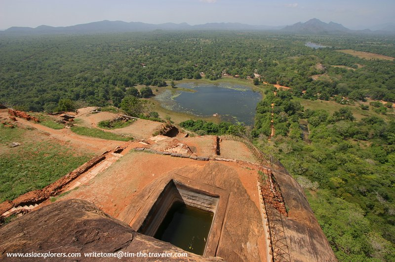 Panoramic view at Sigiriya