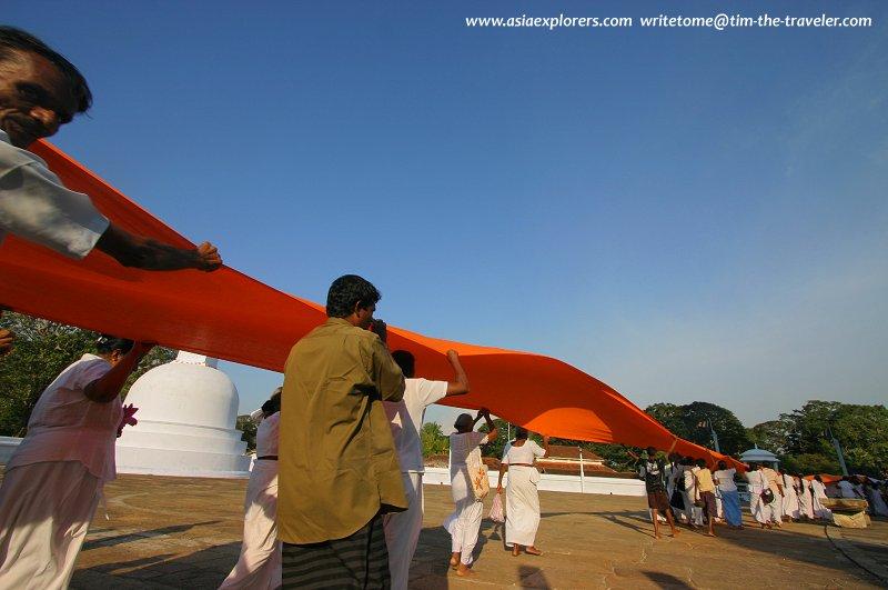 Ruwanweliseya Dagoba, Anuradhapura