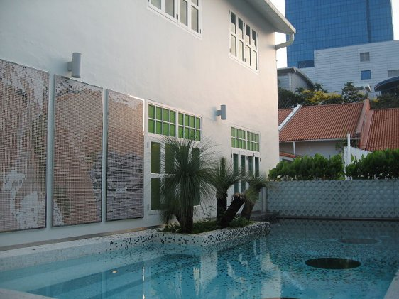 Pool at New Majestic Hotel