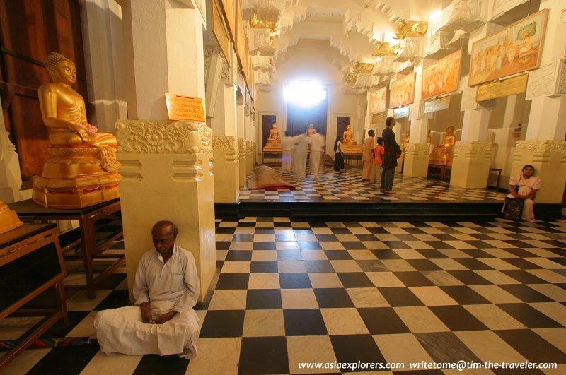 Interior of the prayer hall
