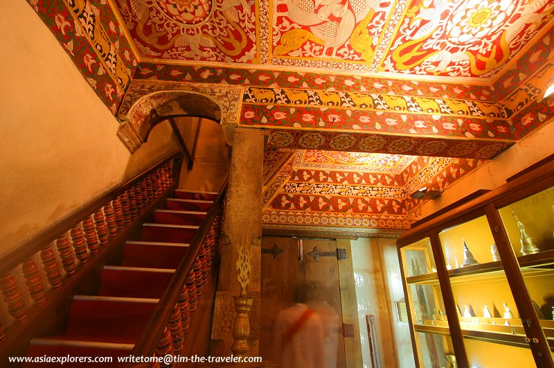 Staircase to the Inner Sanctuary