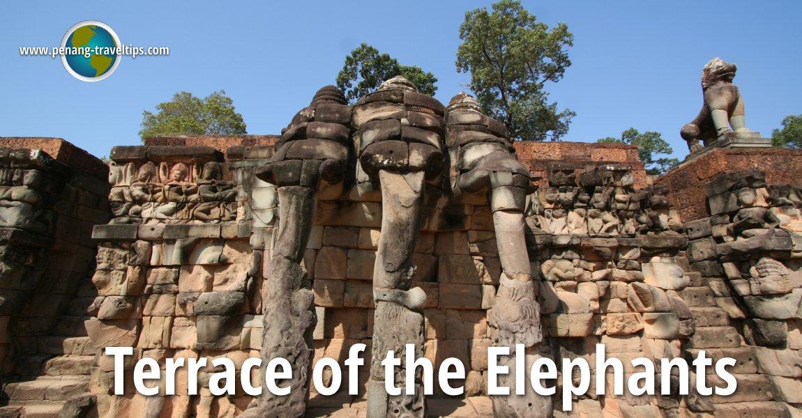 Terrace of the elephants angkor cambodia for Terrace of the elephants