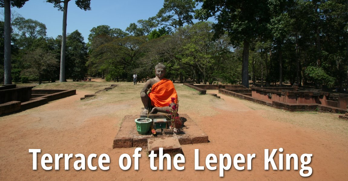 Terrace of the leper king angkor cambodia for Terrace of the leper king
