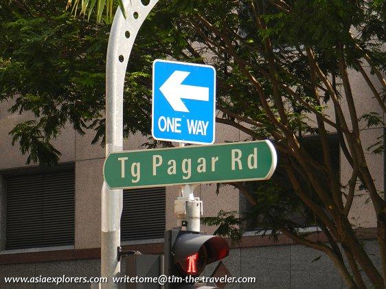 Tg Pagar Rd signboard