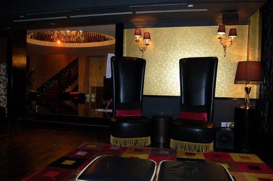 The Scarlet Hotel interior