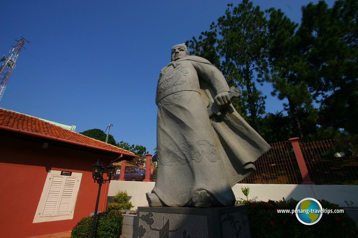 Statue of the Admiral Cheng Ho