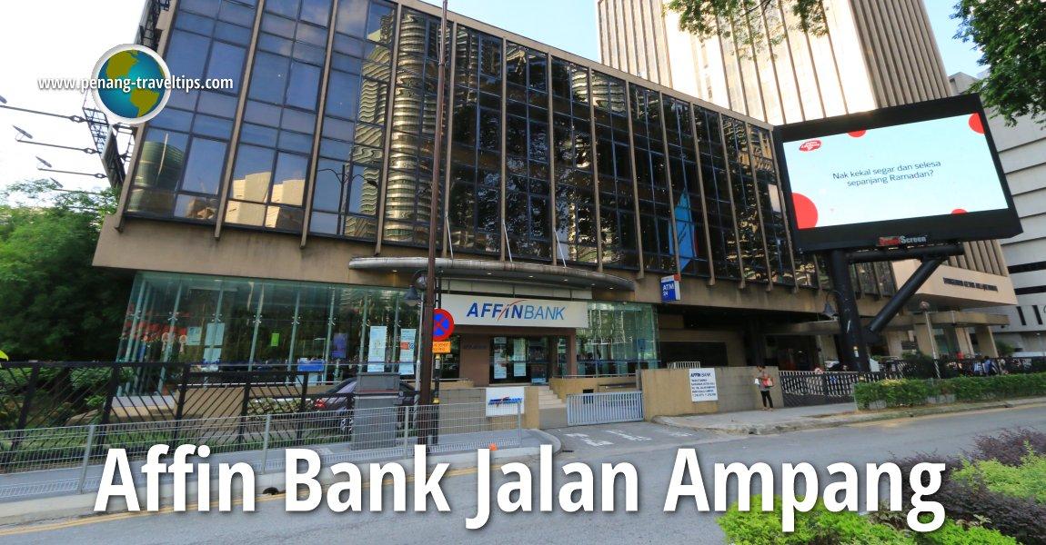 Affin Bank Jalan Ampang
