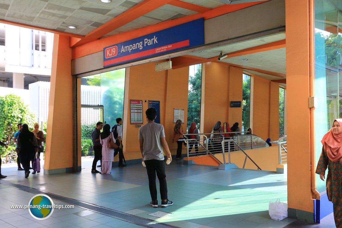 Ampang Park LRT Station