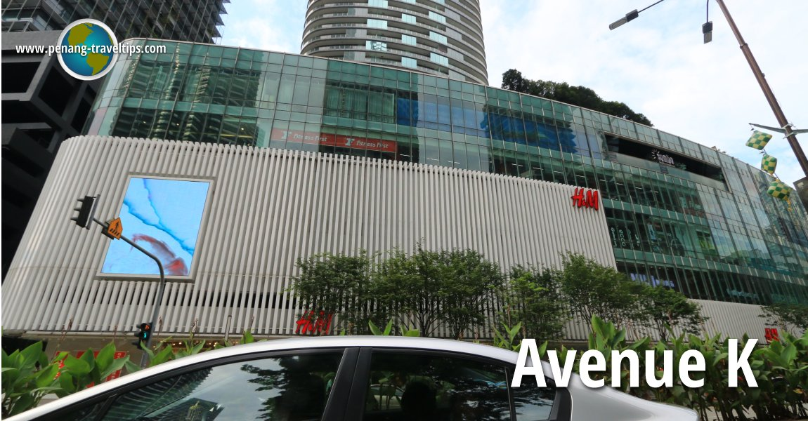 Avenue K, Kuala Lumpur