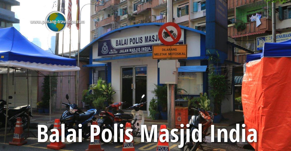 Balai Polis Masjid India, Kuala Lumpur