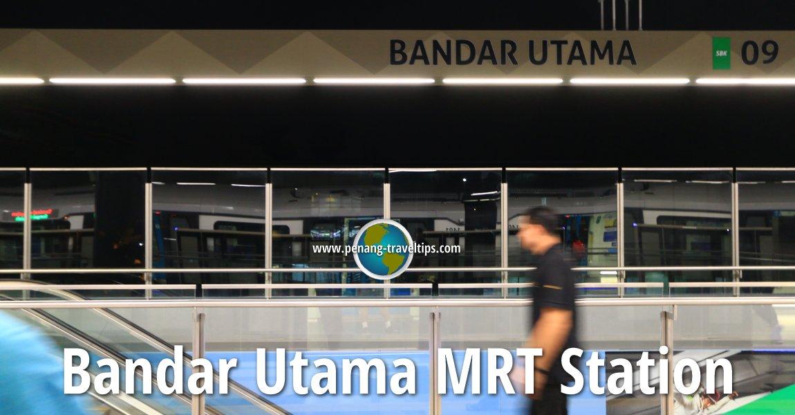 Bandar Utama MRT Station