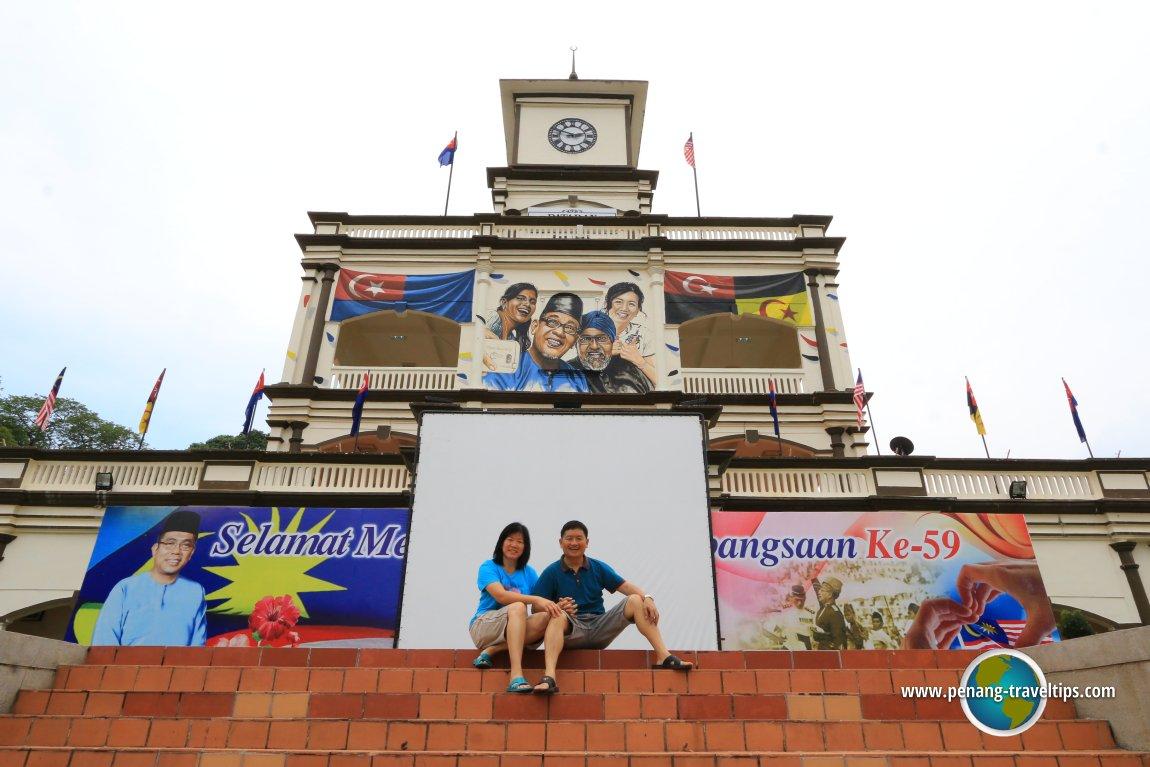Bangsa Johor Mural Muar