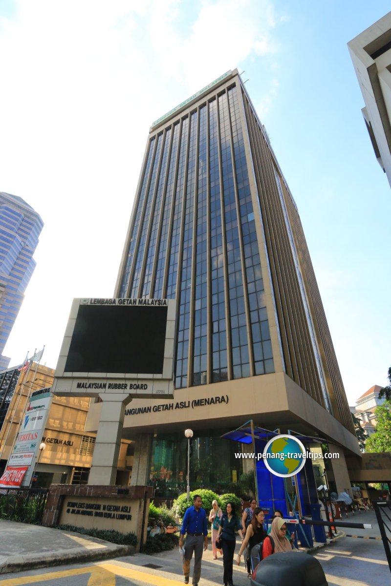 Bangunan Getah Asli, Kuala Lumput