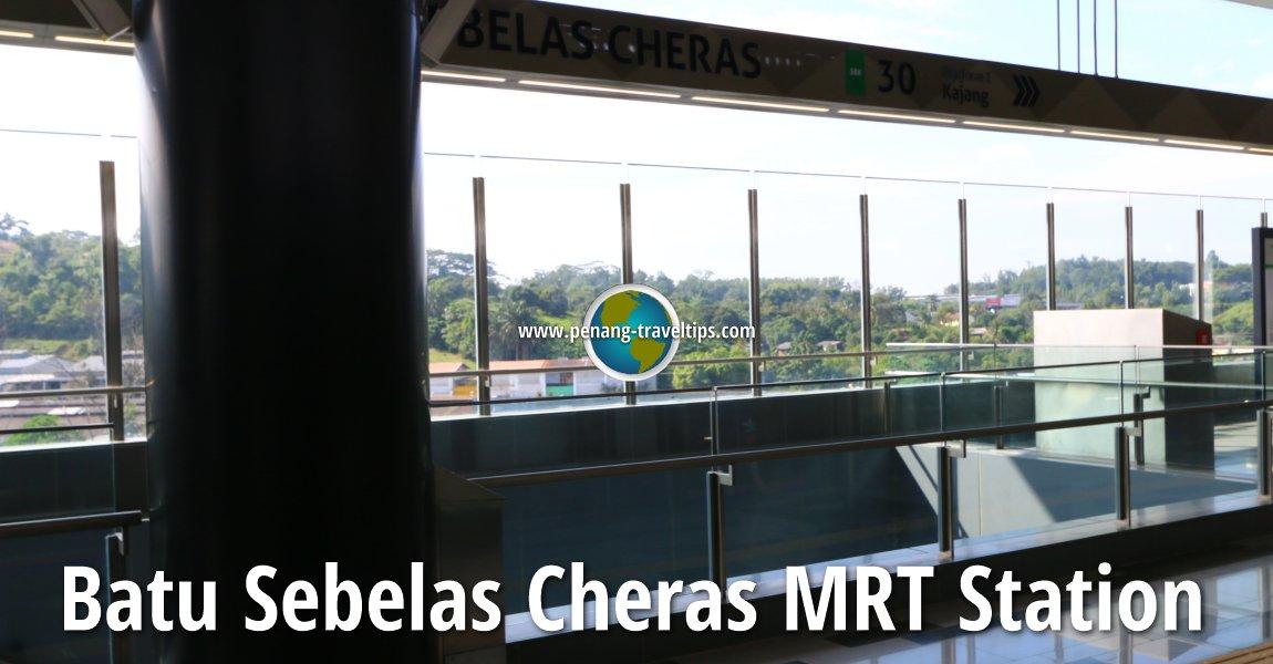 Batu Sebelas Cheras MRT Station