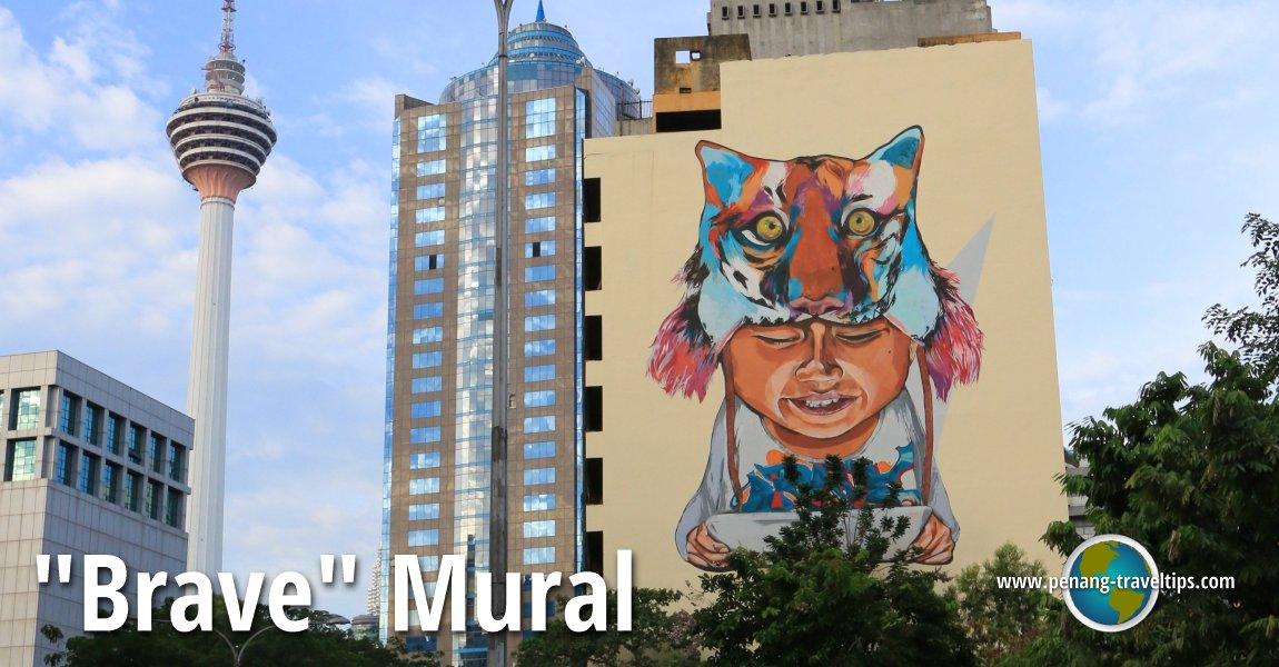 Brave mural kuala lumpur for Mural 1 malaysia