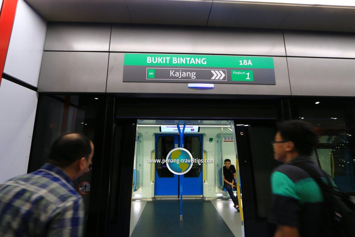 Bukit Bintang MRT Station