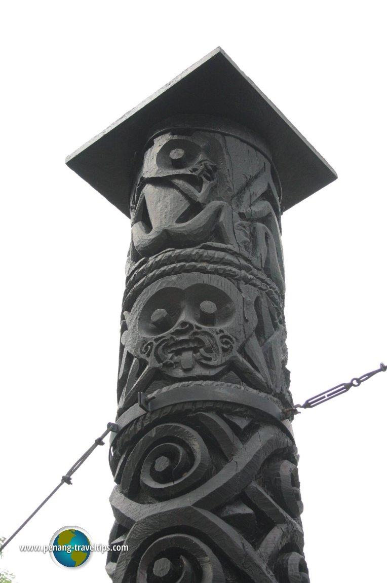 Sarawak Burial Pole