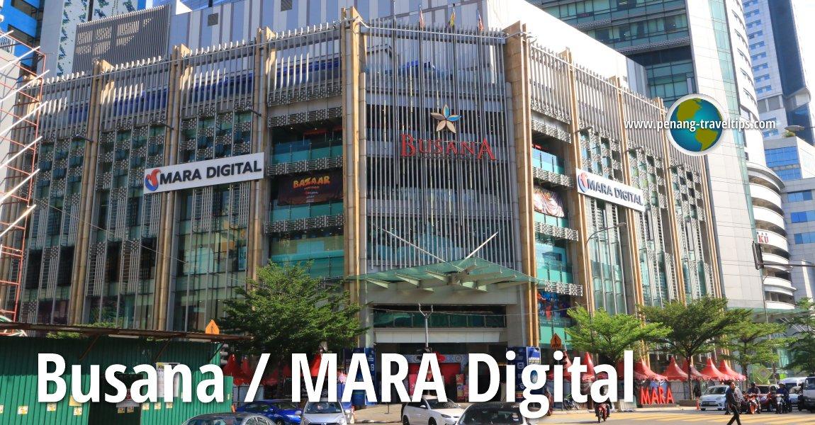 Busana/MARA Digital, Kuala Lumpur