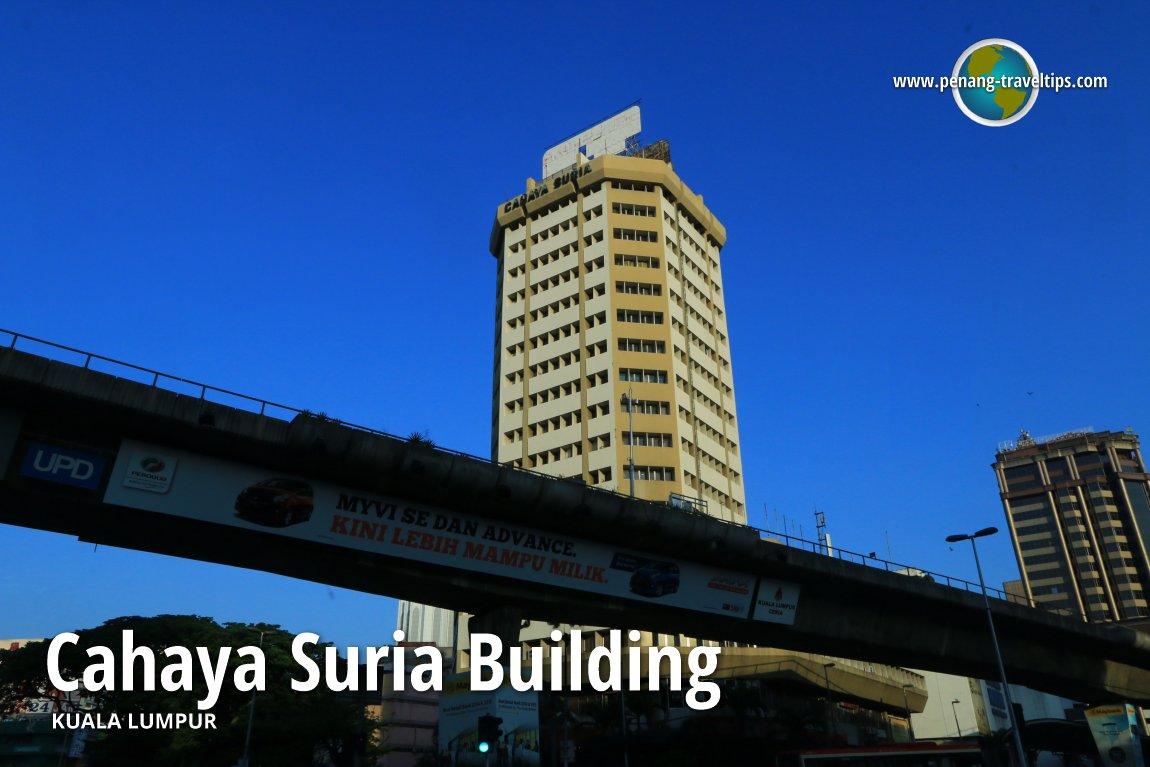 Cahaya Suria Building, Kuala Lumpur