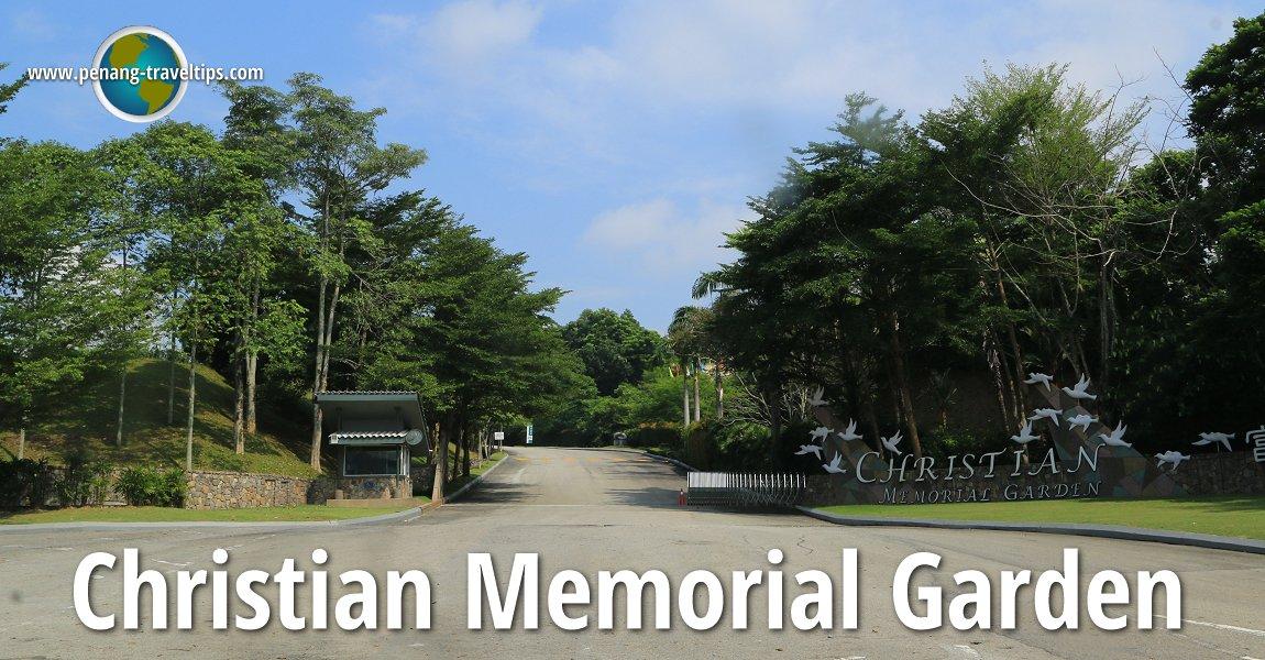 Christian Memorial Garden, Selangor