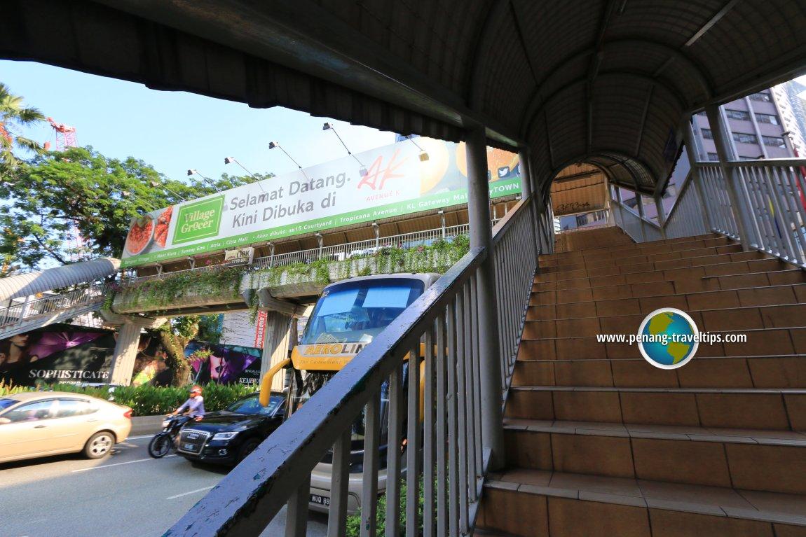 Corus Hotel Pedestrian Bridge