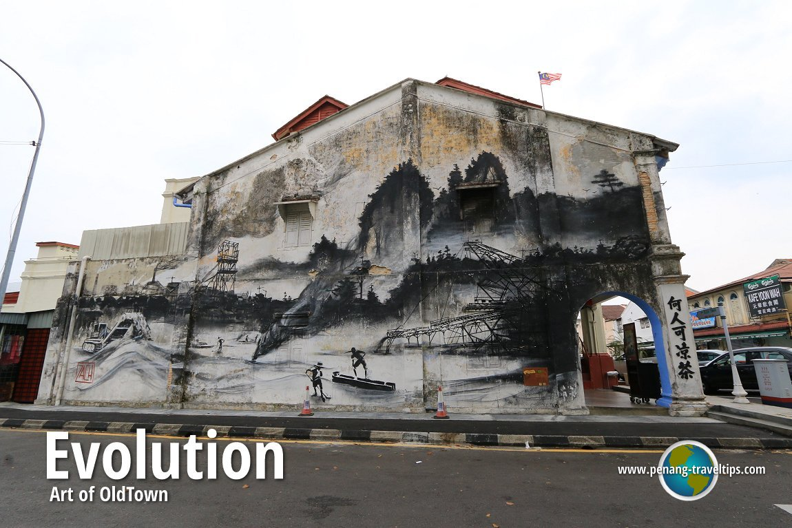 Ernest zacharevic murals in penang for Mural 1 malaysia