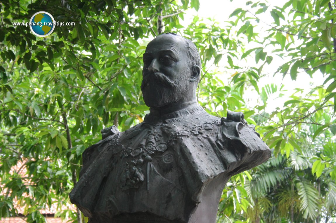 Bust of Frank Swettenham