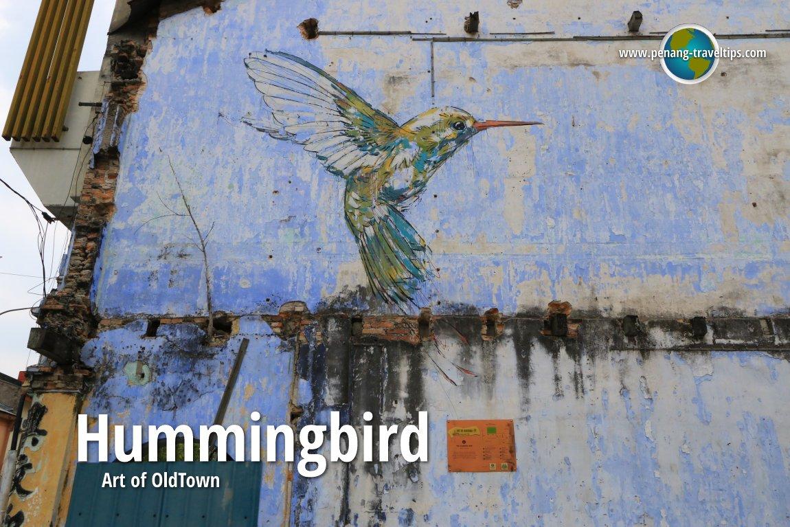 Hummingbird mural ipoh for Mural 1 malaysia