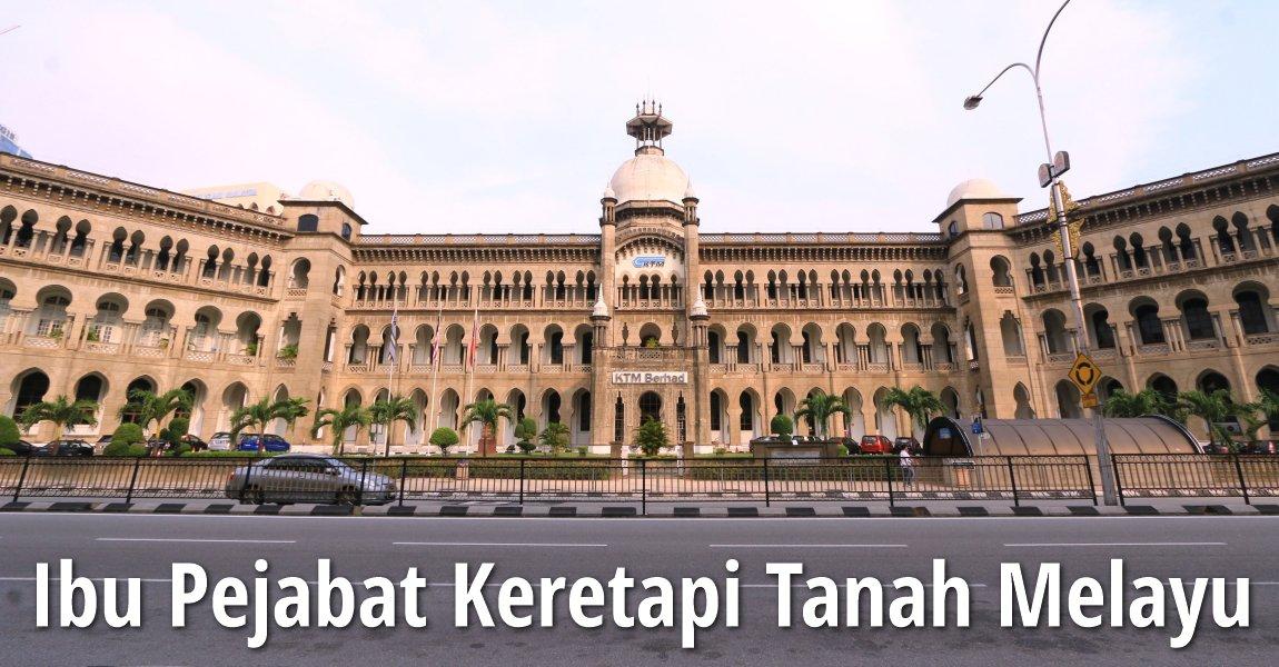 Ibu Pejabat Keretapi Tanah Melayu, Kuala Lumpur