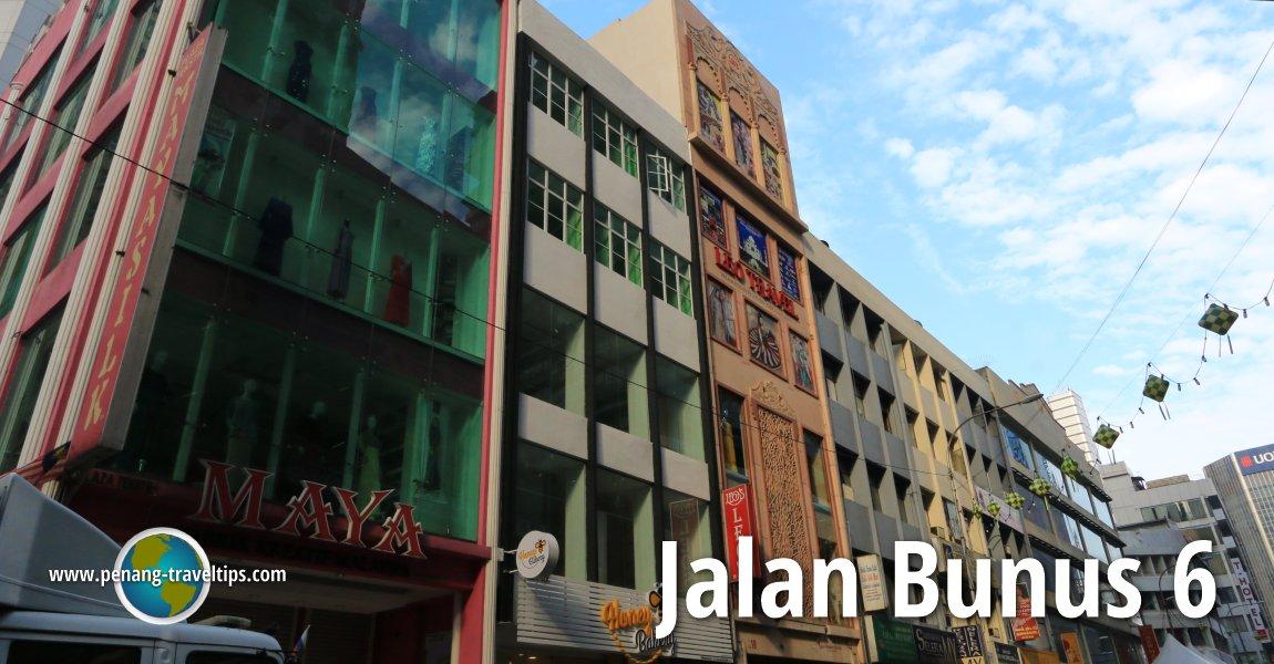 Jalan Bunus 6, Kuala Lumpur