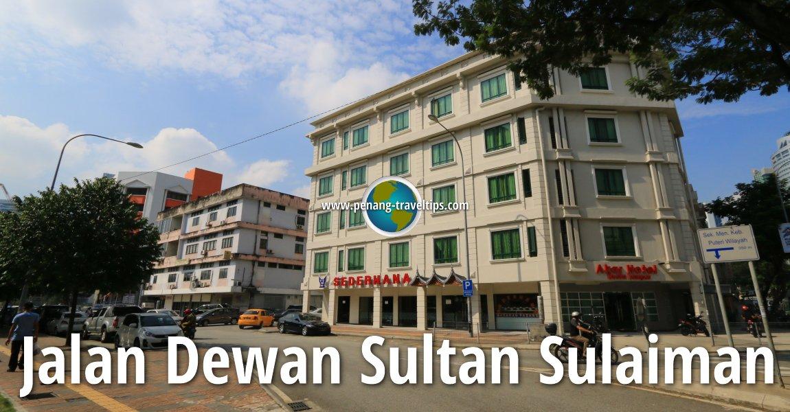 Jalan Dewan Sultan Sulaiman, Kuala Lumpur