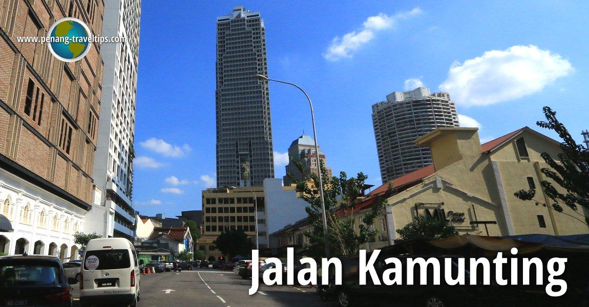 Jalan Kamunting, Kuala Lumpur