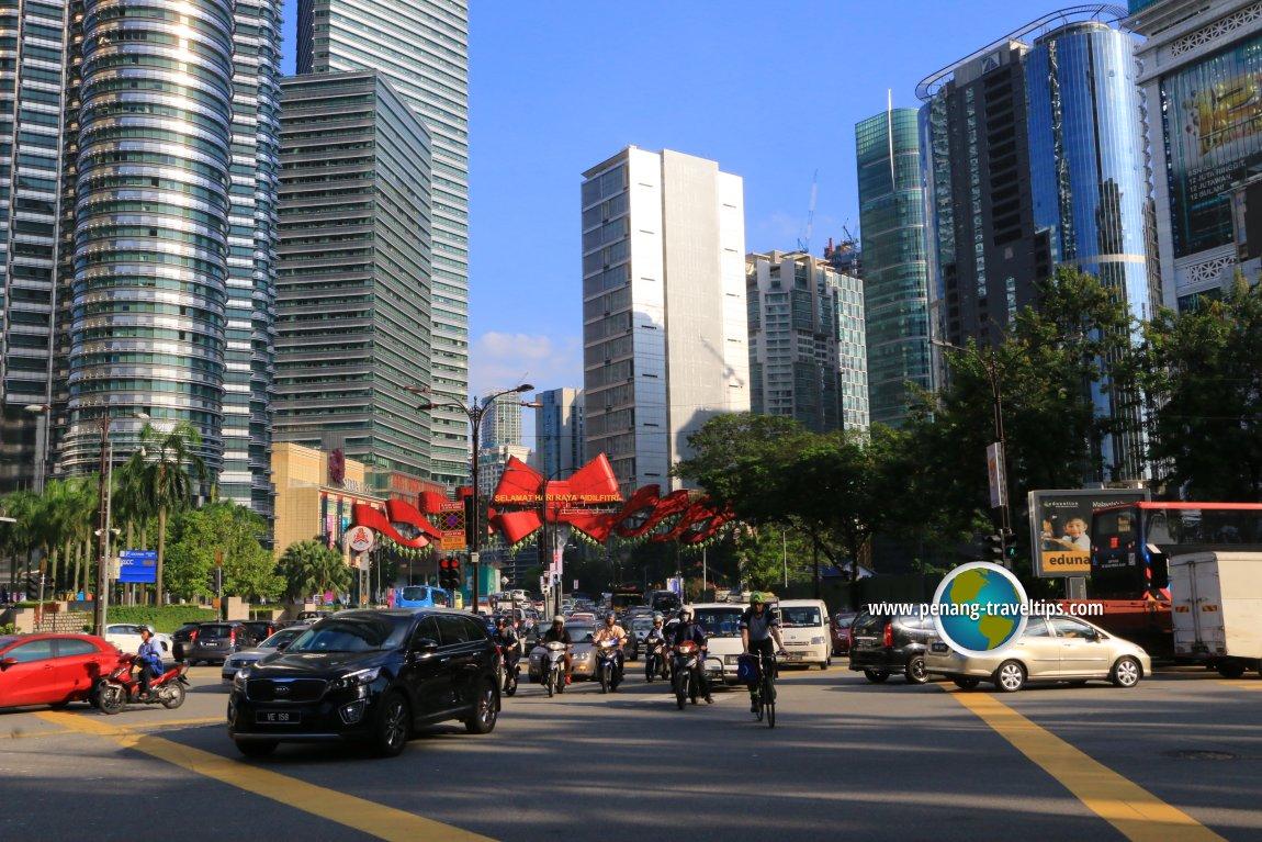 Jalan P. Ramlee, Kuala Lumpur
