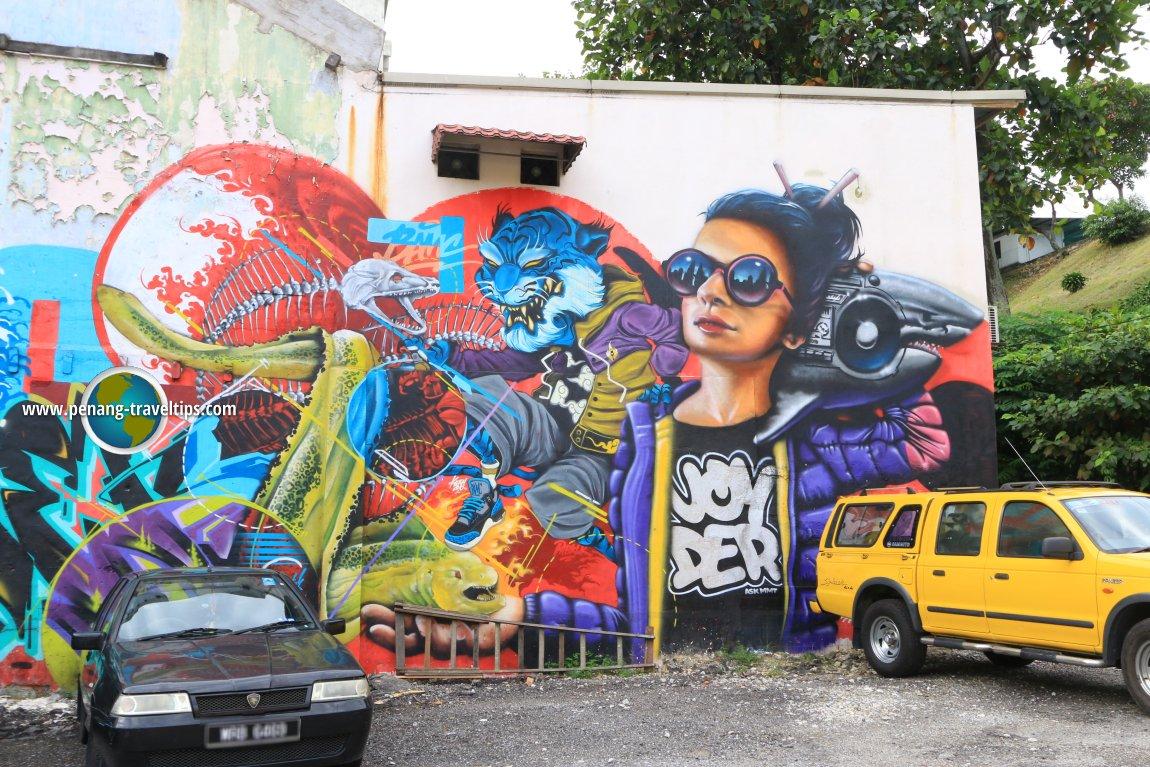 Jalan Petaling Mural