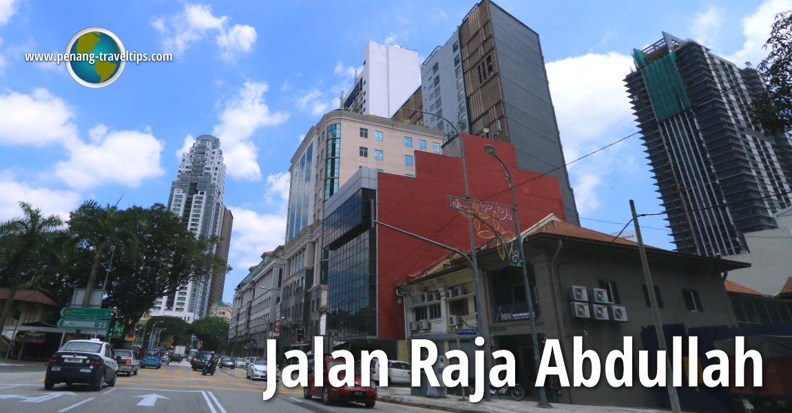 Jalan Raja Abdullah, Kuala Lumpur