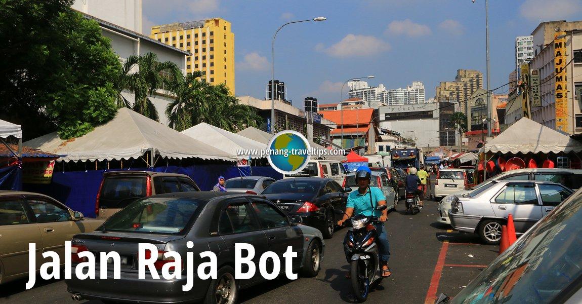 Jalan Raja Bot, Kuala Lumpur